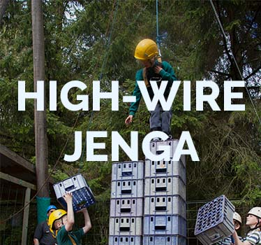 High Wire Jenga (Crate Stacking)